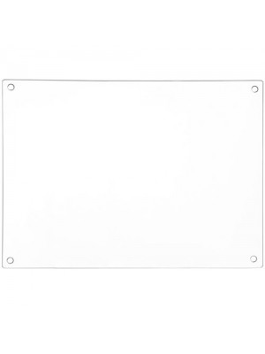 Clear Glass Chopping Board Workspace Saver Cutting Mat