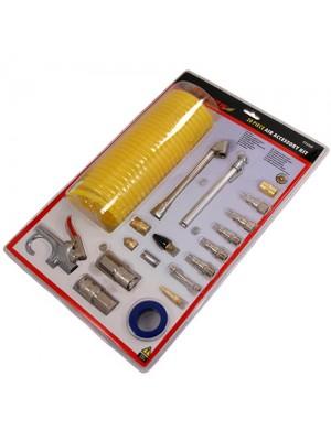 Air Tool Connection Accessories Kit Blow Gun Coil Hose
