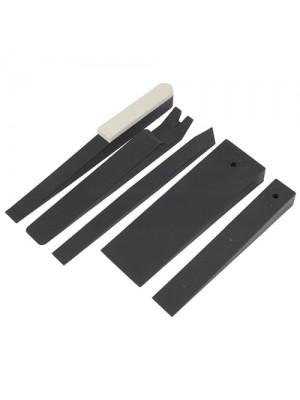 Upholstrey Wedge Set Plastic Mouldings Trim Clips Door Cards