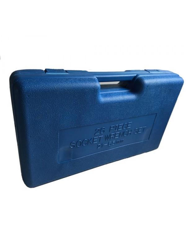 Toolzone 26 Peice Heavy Duty 3/4 1 Inch Socket Set