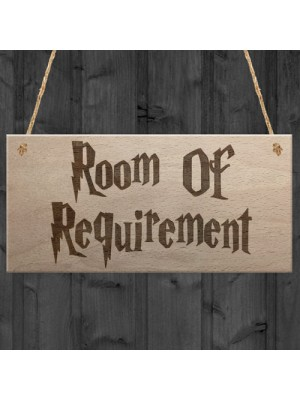 Room Of Requirement Wizardry Hanging Plaque