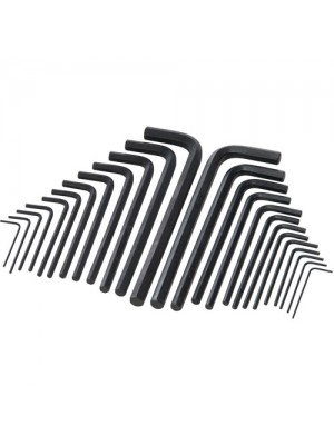 Silverline Hex Key Long Series Set 25pce Metric Allen Key Set