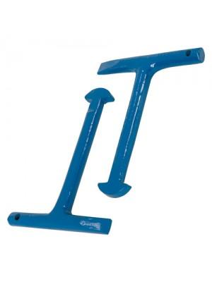 Silverline Manhole Lifters Keys 2pk (125mm) Drain Cover Tool