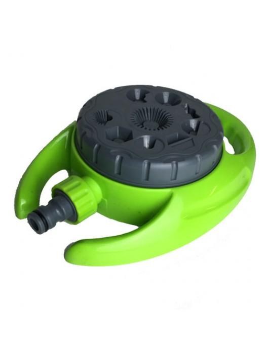 360� 9-Pattern Dial Sprinkler (110mm Dia) Garden Lawn Hose
