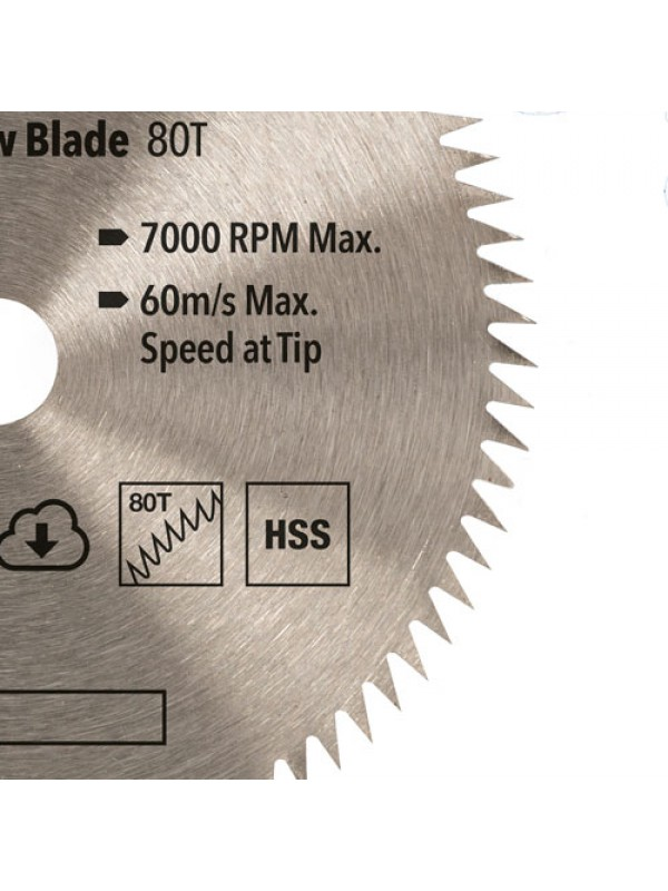 Silverline Mini Saw Blade Set 3pce (85mm Dia - 15mm Bore)