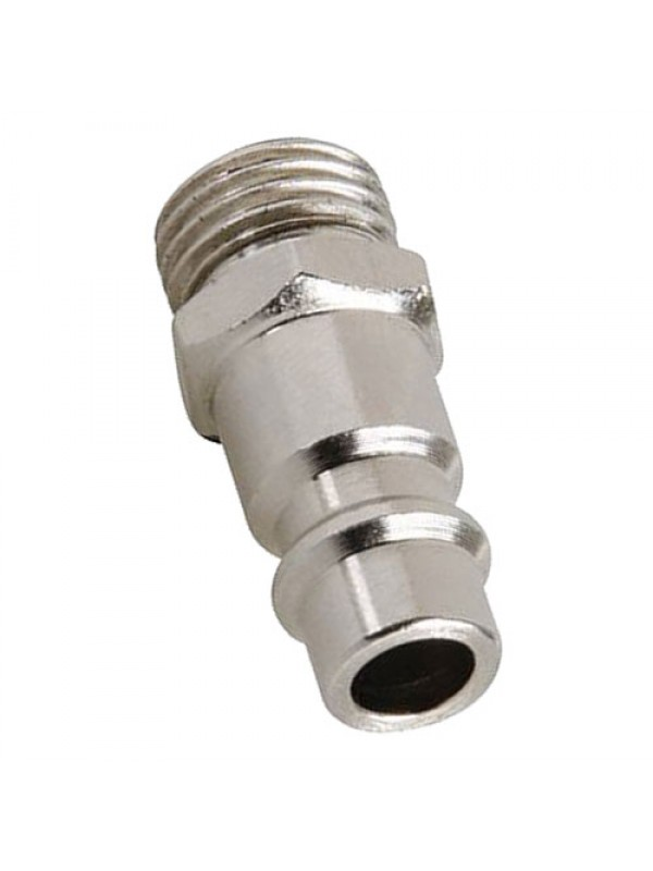 Euro Bayonet Coupler 1/4 Inch BSP Male Thread 2pk