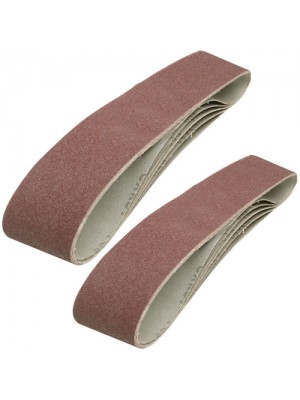 10 Pack Sanding Belts 100 x 915mm (80 Grit)