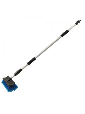 Silverline Telescopic Cleaning Brush 1.32 - 2.14m