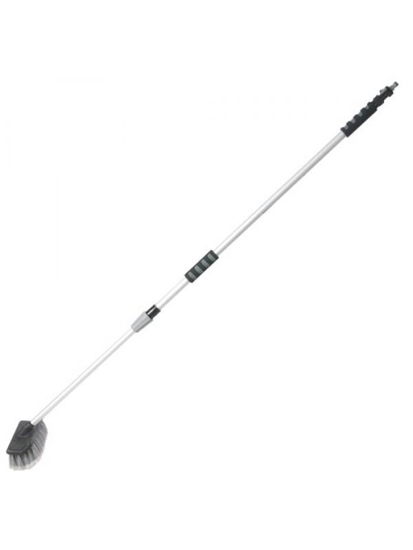 Silverline Telescopic Cleaning Brush 1.32 - 2.14m