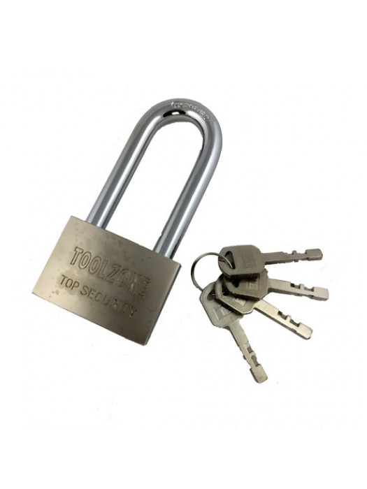 Toolzone 60Mm Long Heavy Duty Security Padlock 4 Keys