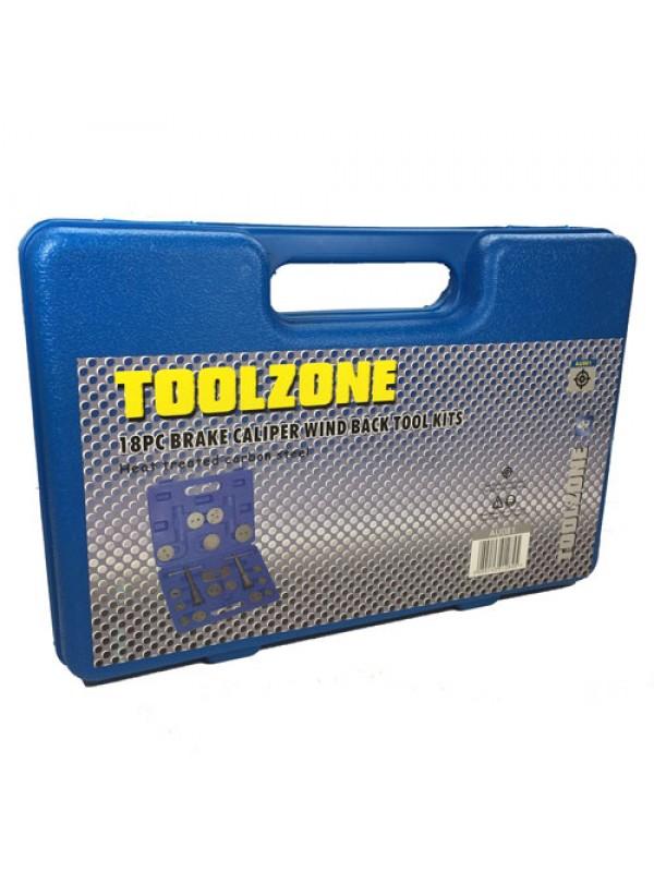 Toolzone 18Pc Brake Caliper Wind Back Tool