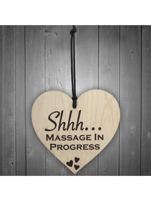 Massage Progress Do Not Disturb Friendship Gift Hanging Plaque