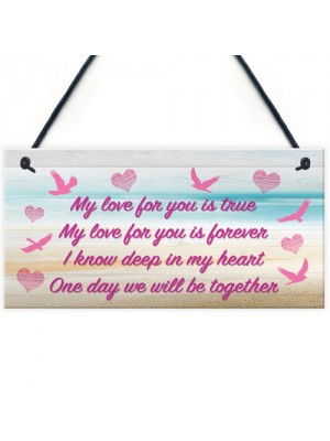 Love For You Memorial Loving Memory Heaven Gift Hanging Plaque
