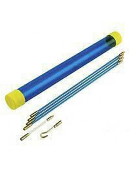 3.3 Meter Pro Cable Access Kit - Electricians Mouse Puller Rods