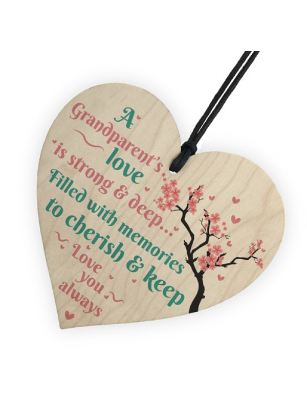 Great Grandparents Love You Grandma Plaques Nan Keepsake Gifts