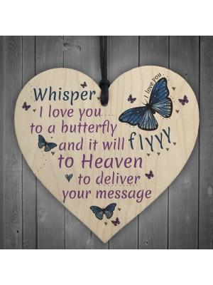 I Love You Memorial Bereavement Family Mum Dad Nan Grandad Gift