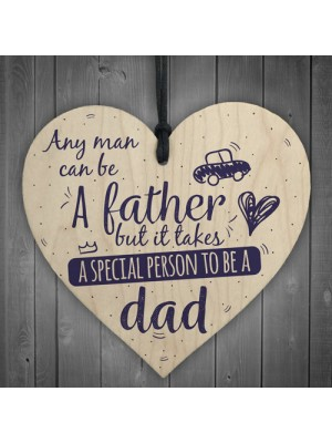 Special Person Wood Sign Husband Dad Son Birthday Father's Day