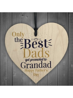 Best Dad Heart FATHERS DAY Gifts For Him Daughter Son Grandad