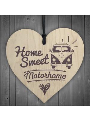 Home Sweet Motorhome Caravan Friendship Plaque Novelty Chic