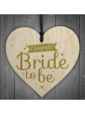 Congrats Bride To Be Hen Party Gift Wooden Accessories Wedding