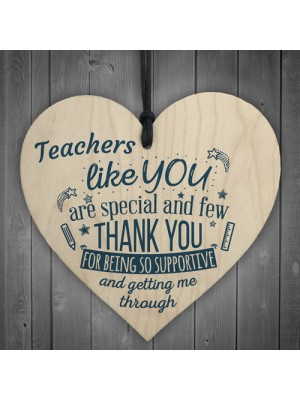 Teachers Like You Leaving Gift Nursery Preschool Thank You Heart