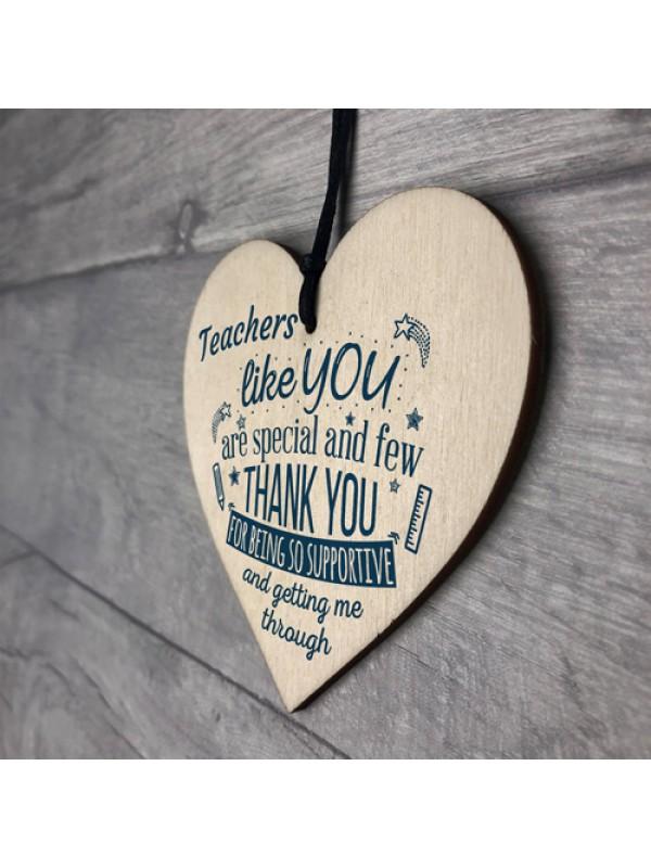 Teachers Like You Leaving Gift Nursery Preschool Thank You Heart