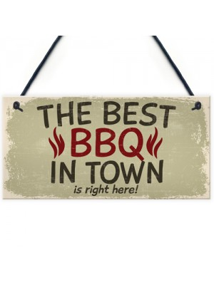 Best BBQ Pit Hanging Garden Sign Barbeque Shed SummerHouse
