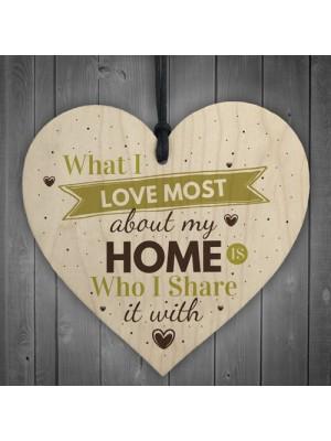 Love Most Home Kitchen Garden Plaque SummerHouse Chic Wall Sign