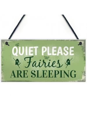 Quiet Please Novelty Hanging Plaque SummerHouse Sign Garden