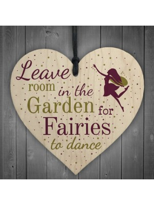 Novelty Fairy Garden Gardening Shed Hanging Wooden Sign Plaque