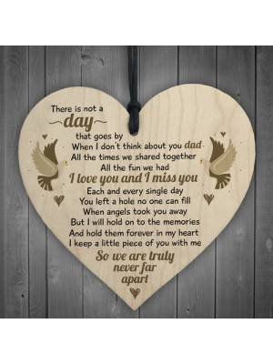 I Miss You Home Grave Garden Memorial Wooden Heart In Memory