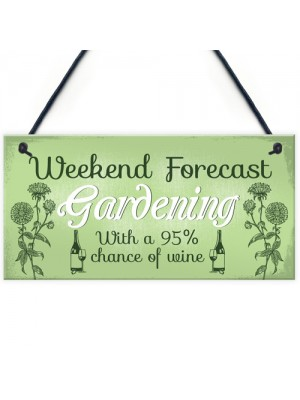 Garden Novelty Hanging Plaque SummerHouse GardenShed Wine
