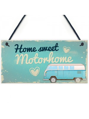 Gifts For Women Motorhome Wall Plaque Caravan Door Sign