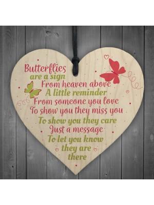 Butterfly Memorial Bereavement Family Mum Dad Nan Grandad Love