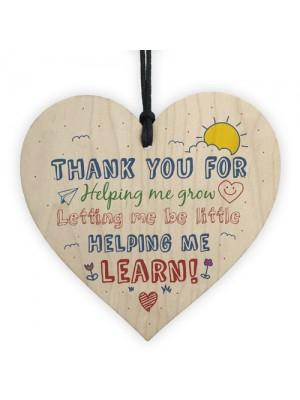 Nursery Teacher Teaching Assistant Gift Thank You Present