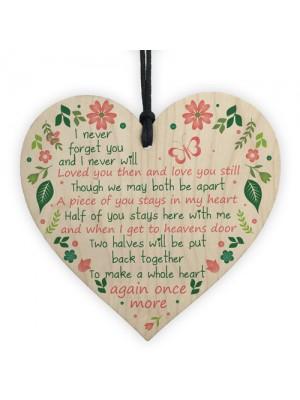 Mum Dad Nan Graveside Memorial Remembrance Heart Cemetery
