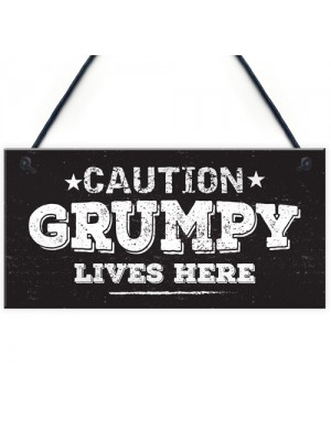 Shed Man Cave Signs Grumpy House Door Plaque Garden Sign Gifts