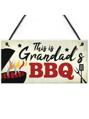 Grandad's BBQ Garden Sign Summer House Bar Man Cave Shed