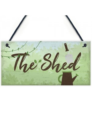 The Shed Signs And Plaques Greenhouse Sign Dad Grandad Mum