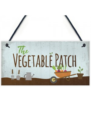 Vegetable Patch Vegetable Garden Shed Sign Grandad Grandma