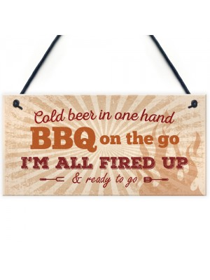 BBQ Sign Garden SummerHouse Bar Man Cave Shed Plaque