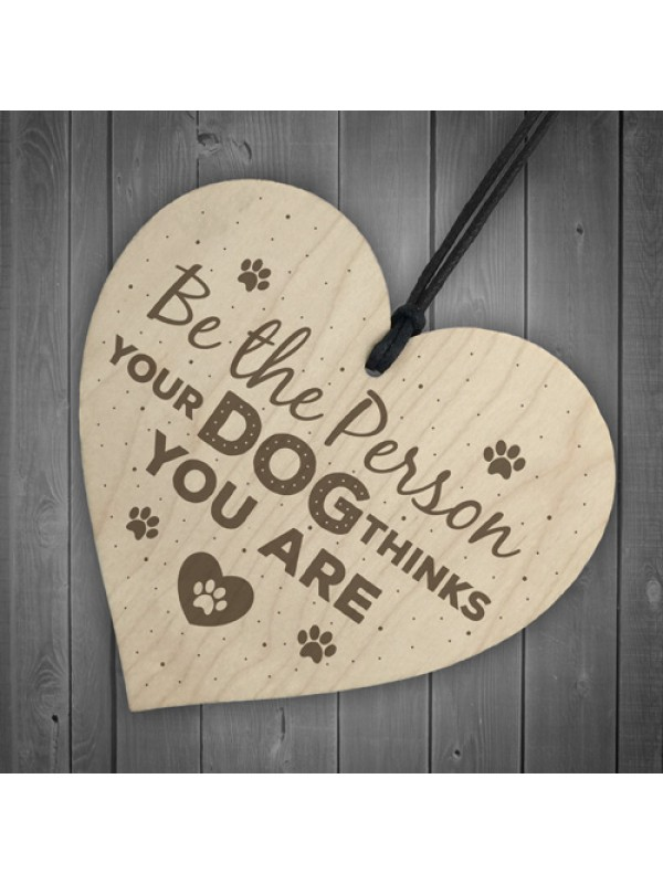 Funny Dog Lovers Sign Heart Door Kennel Cage Plaque Dog Owner