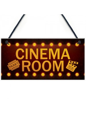 Cinema Room Home Theatre Gift For Mum Dad Man Cave Den Wall