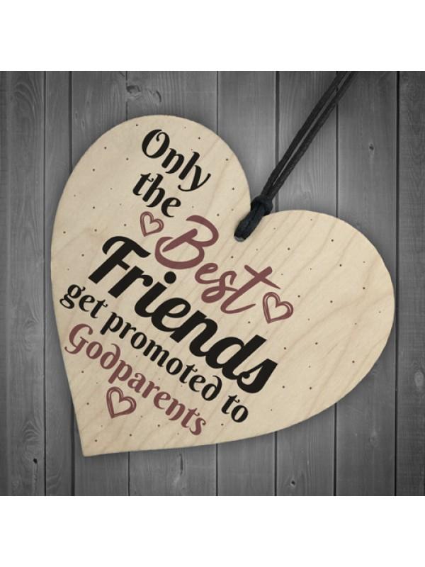 Handmade Best Friend Gift Godparent Asking Gift For Christening