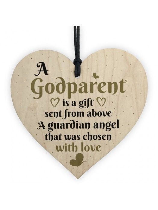 Handmade Godparent Asking Gift For Christening Special Thank You