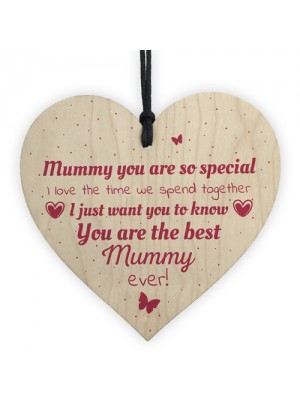 Handmade Mummy Gift Novelty Hanging Plaque Gifts For Mum