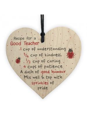 Gifts For Her Handmade Hanging Heart Gift For Teacher Leaving