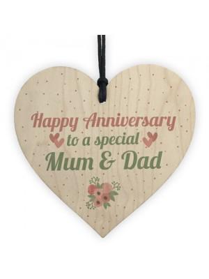 Anniversary Gift First 10th 25th 50th Wedding Anniversary Mum