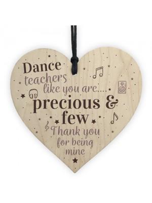 Dance Teacher Thank You Keepsake Gift Ballet Teacher Birthday