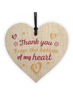 Thank You Gift For Teacher Midwife Nurse Assistant Wooden Heart